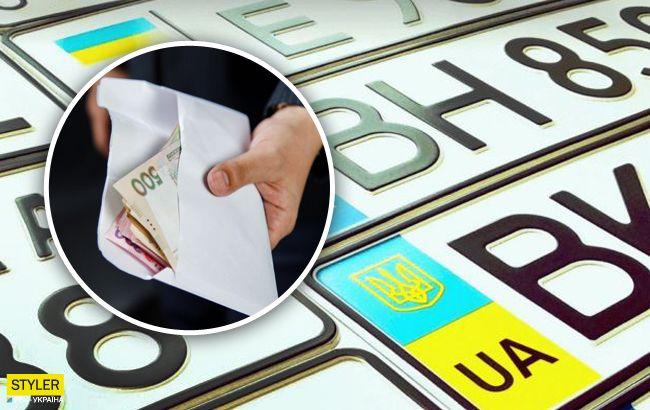 Индивидуальный автомобильный номер в Украине: названы цены