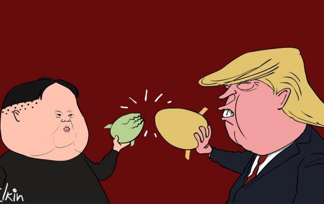 Фото: Карикатура Сергея Елкина (twitter.com/Sergey_Elkin)