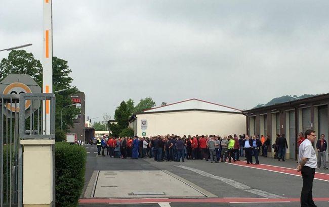 Фото: в немецком Эльманне прогремел взрыв на заводе