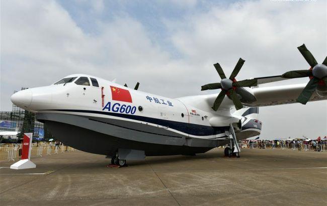 Фото: китайский гидросамолет AVIC AG600