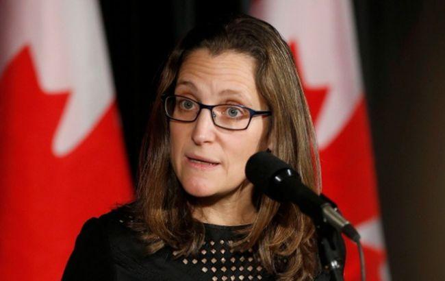 Канада всвязи схиматакой ввела санкции против 17 сирийских чиновников