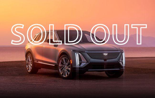 Перші серійні електромобілі марки Cadillac розкупили за 19 хвилин