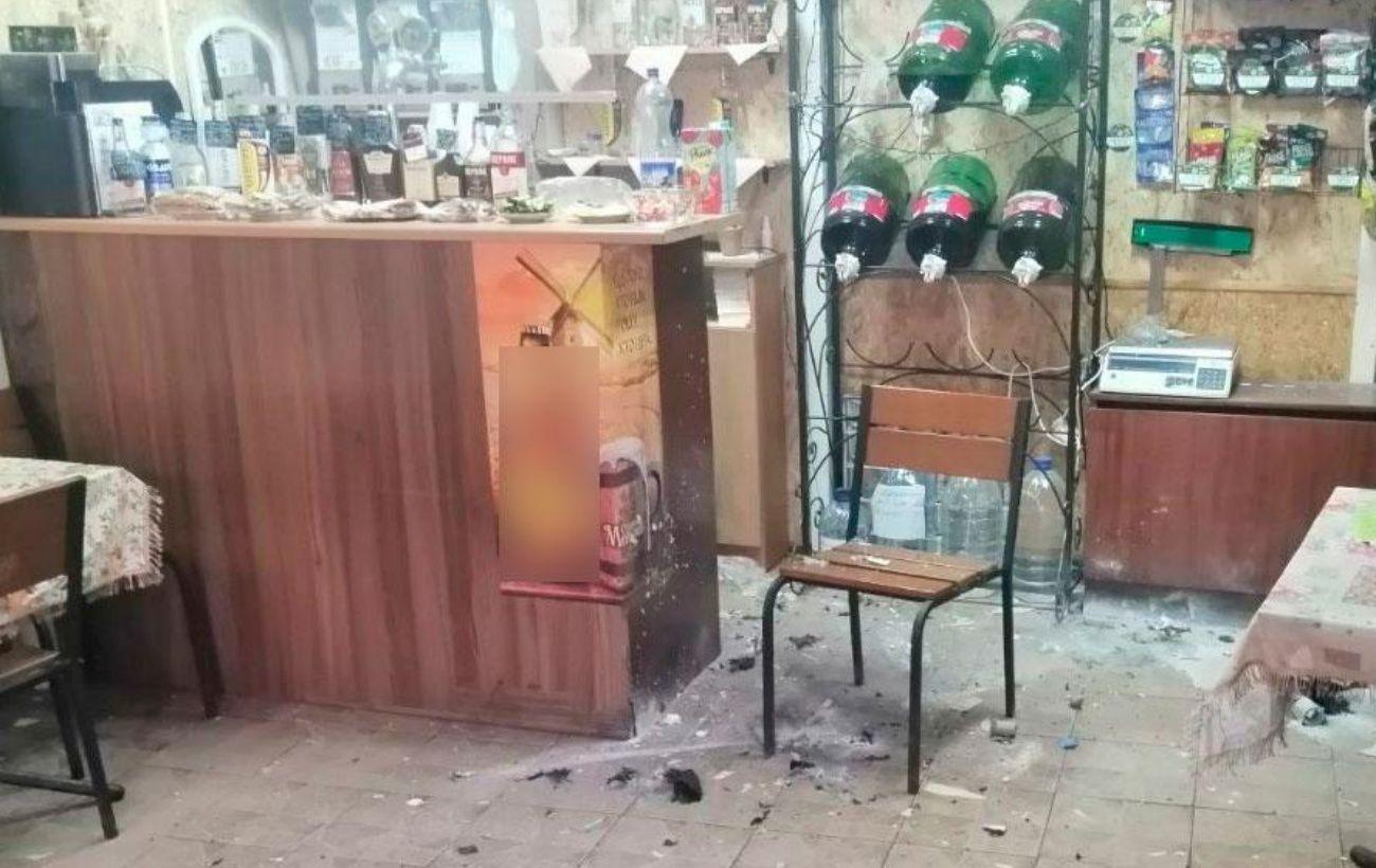 В Полтаве произошел взрыв в двух кафе