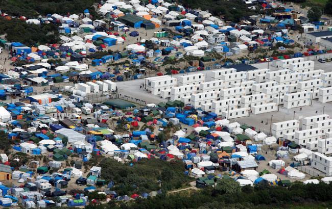 Фото: табір біженців у Калі