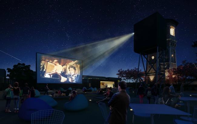 Фото: На ВДНХ появится летний кинотеатр (cgarchitect.com)