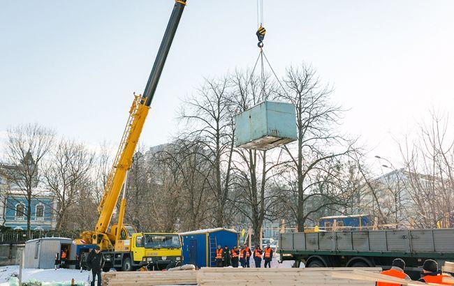 У Києві почали будівництво меморіалу Героїв Небесної Сотні