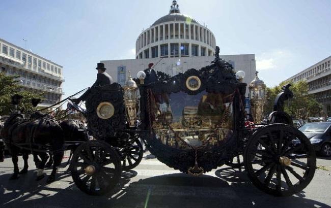 Похороны наркобарона Казамоники в Риме