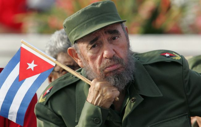 Фото: Фідель Кастро керував Кубою майже 50 років