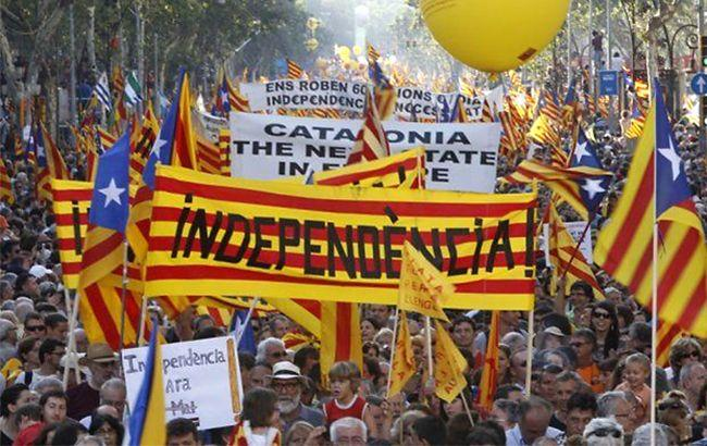 протесты в связи с референдумом в Испании 2017