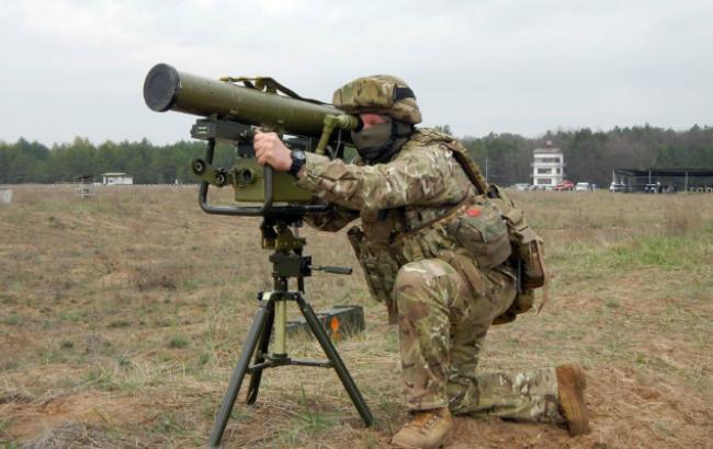 В сети показали испытания новыхукраинскихпротивотанковых ракет