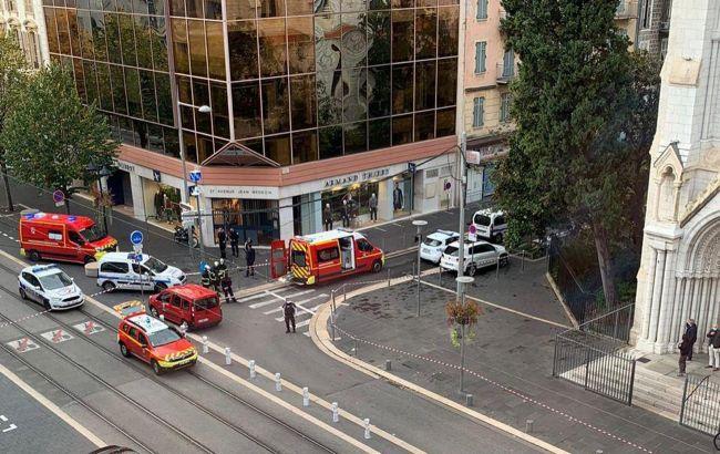 В Ницце неизвестный напал с ножом на людей возле церкви, есть жертвы