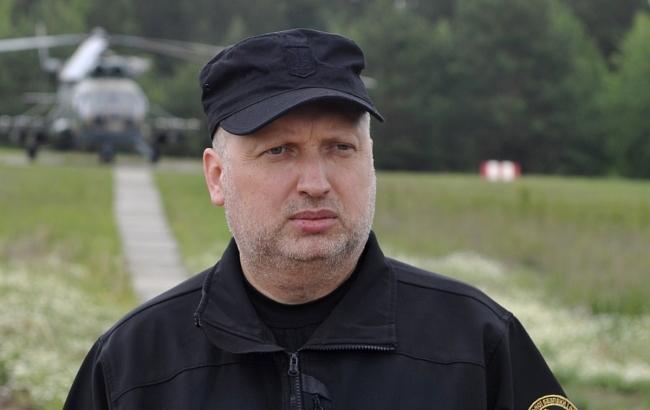 Турчинов анонсував засідання РНБО щодо санкцій проти Росії