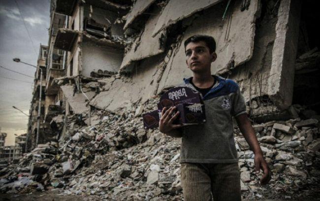 Фото: мирні жителі Сирії