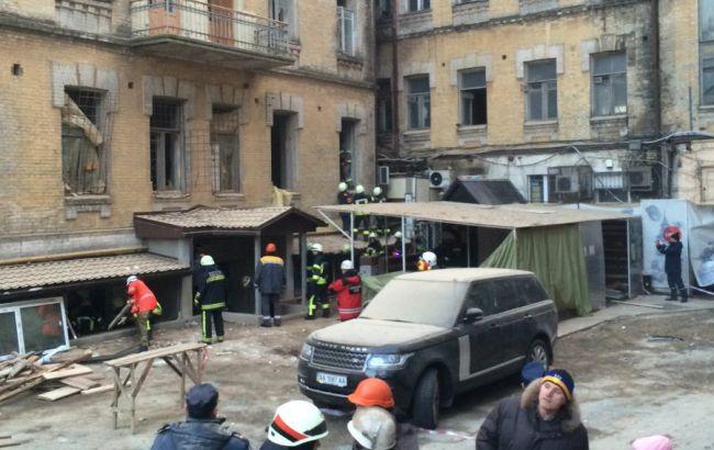 Из-под завалов дома вцентре украинской столицы достали 5-ого пострадавшего