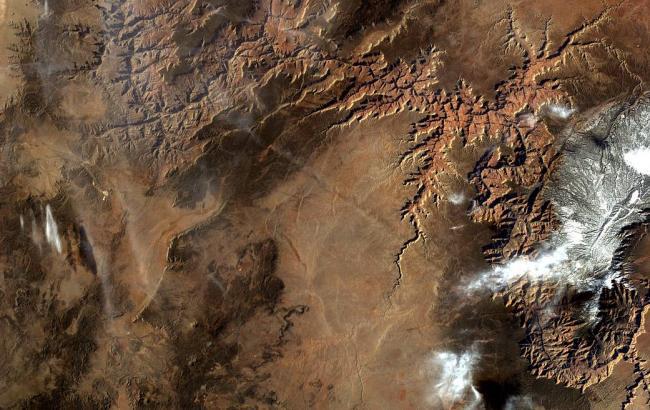 NASA показало Великий каньйон, знятий з МКС