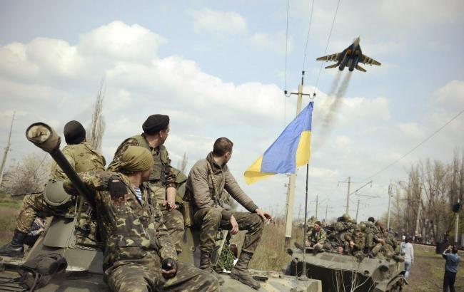 Украинские военные сбили вражеский беспилотник наЛуганщине