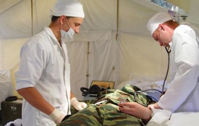 В зоне АТО продолжается ротация военных медиков, - штаб