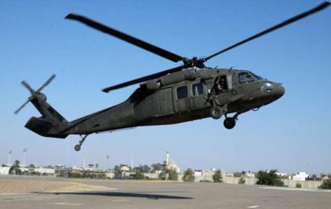Поліцейський вертоліт в Колумбії розбився, є постраждалі