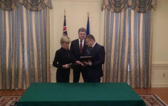 Україна і Австралія підписали угоду про постачання урану