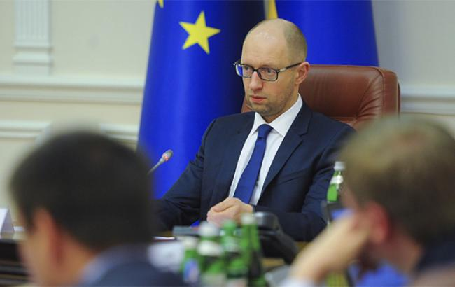 Яценюк допускает падение ВВП Украины на 7% в 2014 г