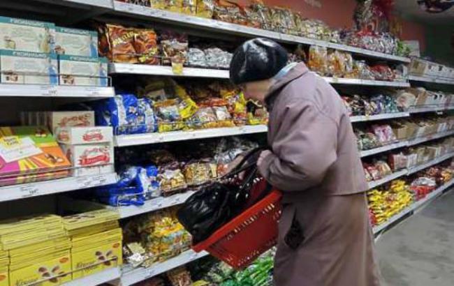 Інфляція в Україні в лютому зменшилася до 1%