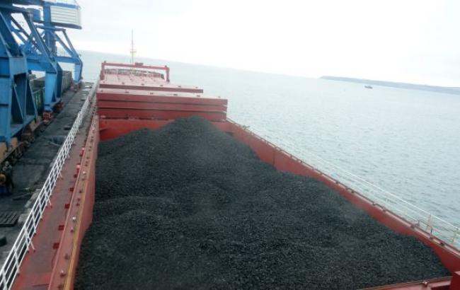 В Україну прибуло третє судно з південноафриканським вугіллям обсягом 85 тис. т