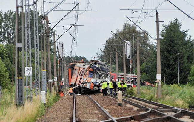 Фото: в Польше грузовик столкнулся с поездом (httpraportdrogowy.interia.pl)
