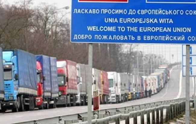 Фото: експорт товарів України в ЄС зростає