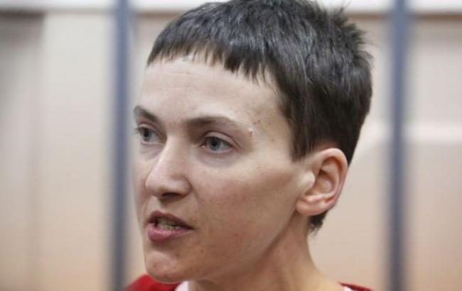 Савченко согласилась прекратить голодовку, - ФСИН РФ