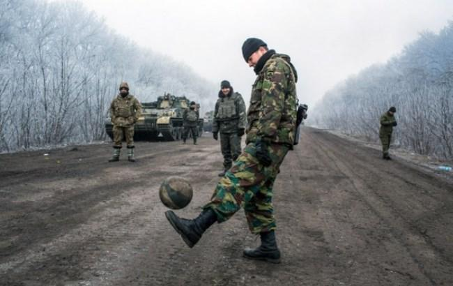 Фото: Киевляне не верят в перемирие на Донбассе