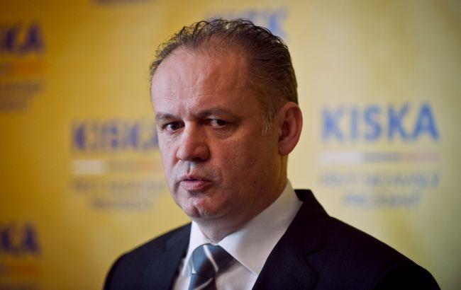 """Президент Словакии выразил недовольство проектом """"Северный поток-2"""""""