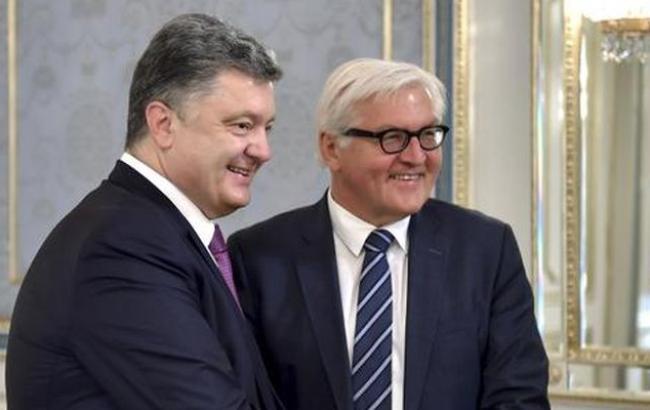 Порошенко і Штайнмаєр сподіваються, що питання безвізу для України вирішать найближчим часом