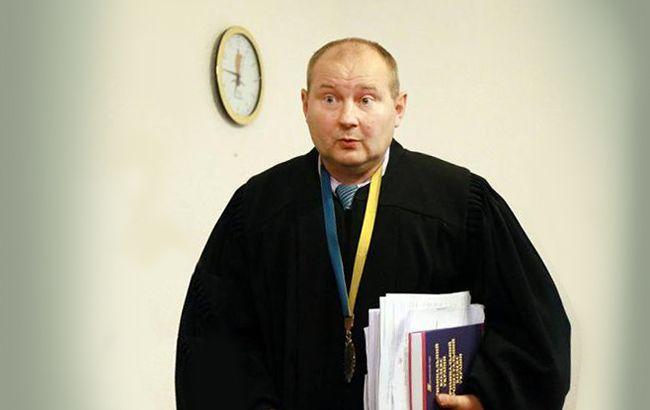 Фото: суддя Микола Чаус