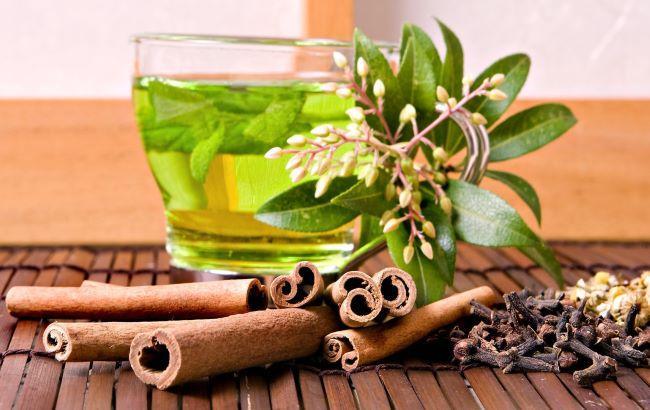 Фото: Корица и мятный чай (fluper.ru)