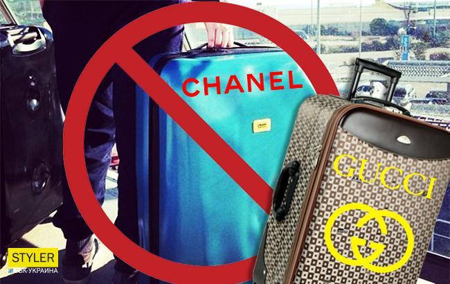 В Киеве задержали брендового контрабандиста с вещами Gucci и Chanel на круглую сумму