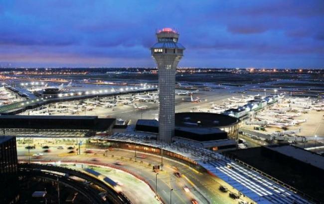 Фото: Міжнародний аеропорт о'хара в Чикаго (Mostinfo.su)