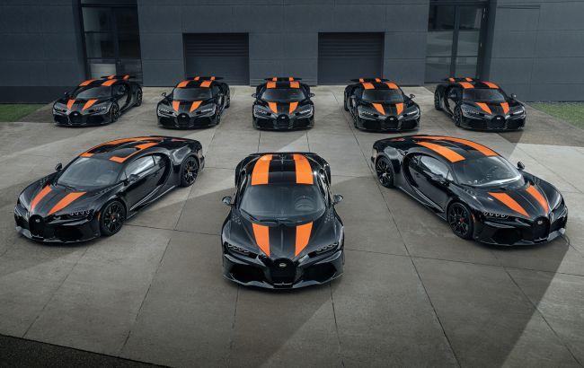 490 км/ч за 3,5 млн евро: выпущены первые Bugatti Chiron Super Sport 300+