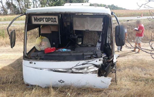 У ДТП з автобусом в Черкаській області загинули три людини