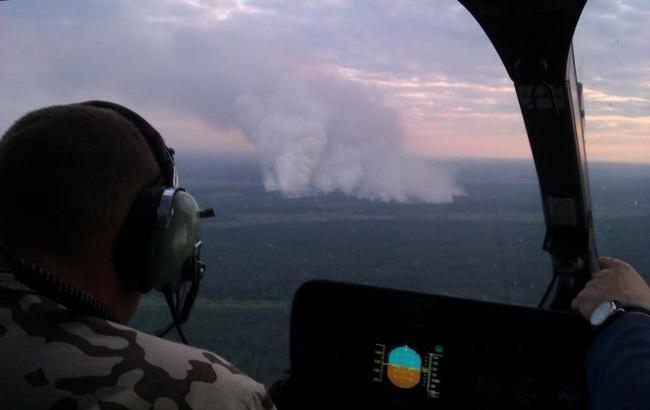 Пожежу під Чорнобилем локалізовано.