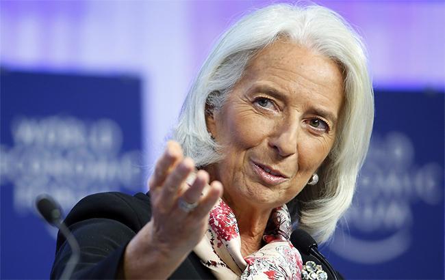 Увага голови МВФ Крістін Лагард сконцентрована на проекті держбюджету і скорочення дефіціта Пенсійного фонда