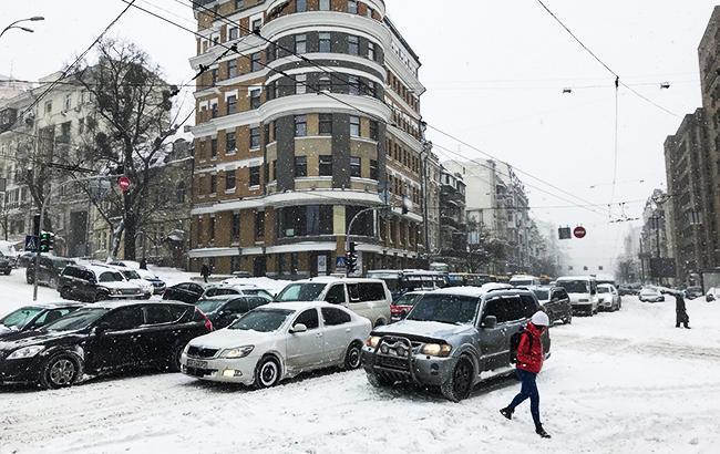 Фото: непогода в Украине (twitter.com/ChristopherJM)
