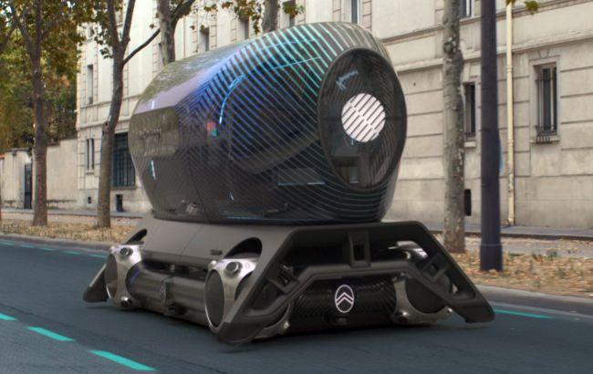 Безпілотний скейт для міста: Citroen показав абсолютно футуристичний концепт Autonomous Mobility Vision