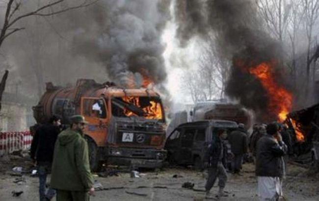 В Кабуле смертник подорвал военную автоколонну НАТО, 7 погибших