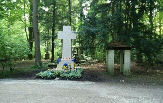 Фото: могила Бандери в Мюнхені
