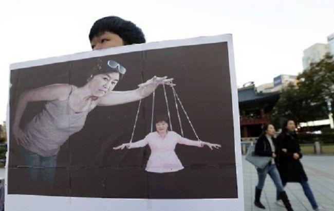 Фото: в Южной Корее требуют отставки президента
