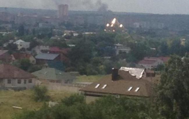 У Луганську прогримів потужний вибух, - ІС