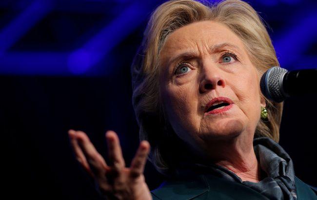 Фото: кандидат в президенты США Хиллари Клинтон