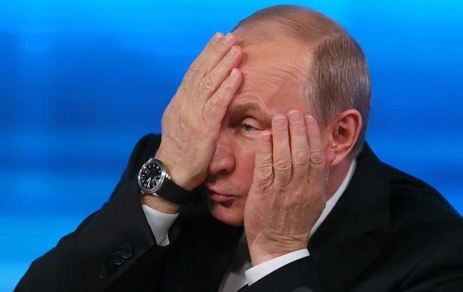 Фото: Путін в жаху