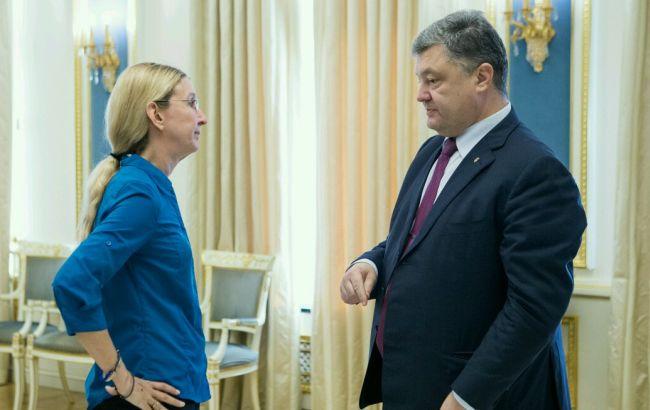 Фото: Порошенко запропонував Уляні Супрун стати заступником міністра охорони здоров'я