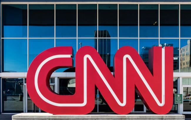 Фото: будівля телеканалу CNN (John Greim/Getty Images)